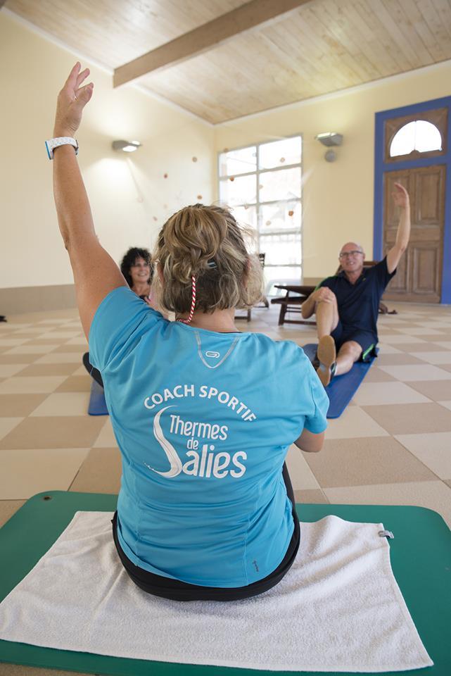 Salle Musculation Thermes de Slies de Bearn Aquitaine;